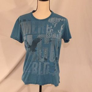 American Eagle Women's Graphic Tee Size Small